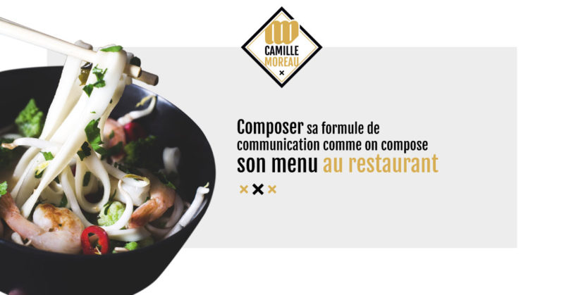 Camille Moreau - Graphiste Freelance Toulouse - Formule de communication